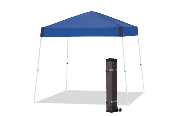 tent kopen met een blauw dak