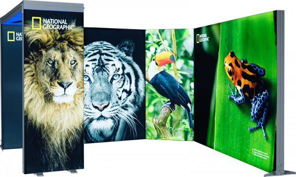 Expo Lightbox stand 4x4