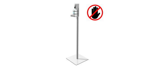 Display handgel avec distributeur optionnel No Touch
