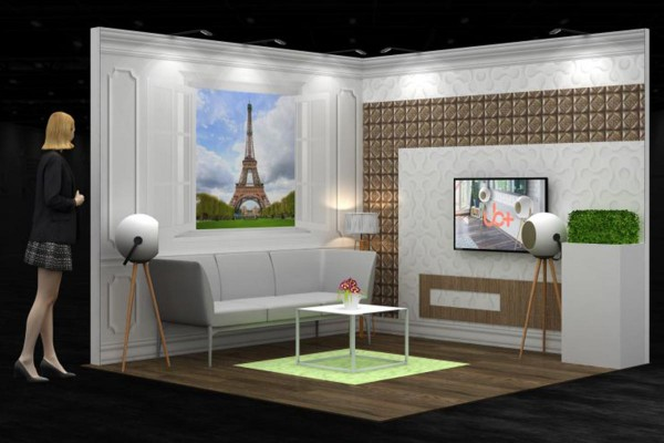 3x3 m - Stand d'angle | Stand d'exposition