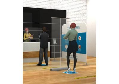 Rollufix Economy transparant- Corona